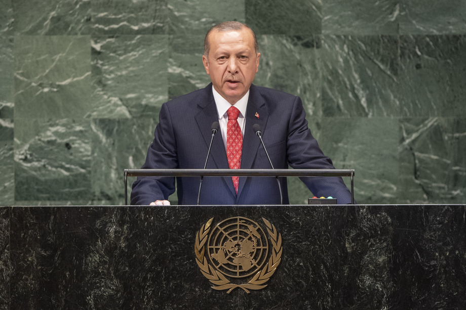 Turkey's President Erdoğan speaks at 74th UN General Assembly