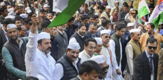 Kamal Nath joins protest against Citizenship Act