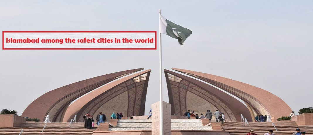 Islamabad beats London, Paris as safest city in the world