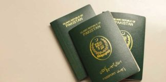 Pakistani passport slips further on Henley Passport Index