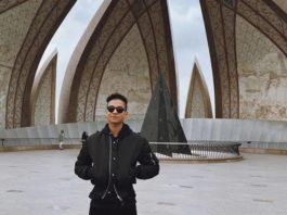 jaafar jackson pakistan islamabad faisal mosque visit 2020