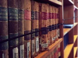 Library of law in New Zealand