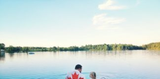 canada-day-girl-day-celebration-july-flag-national-family-holiday-father-dad-parent-together